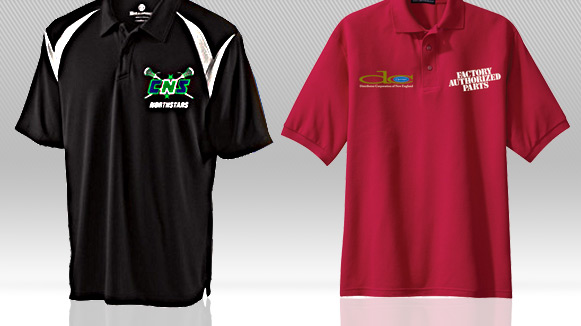 Custom Printed Polo Shirts in Syracuse NY