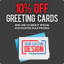 Save 10% on greeting cards