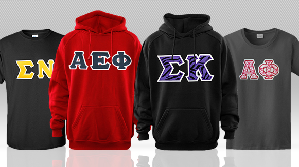 Custom Greek Apparel in Syracuse, NY